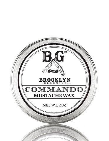 Men's Grooming Products - Commando Mustache Wax