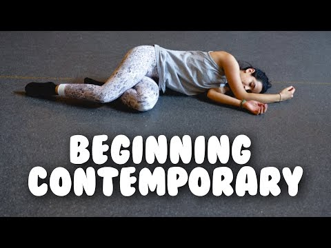 Beginning Contemporary Dance I Follow Along Class With @MissAuti