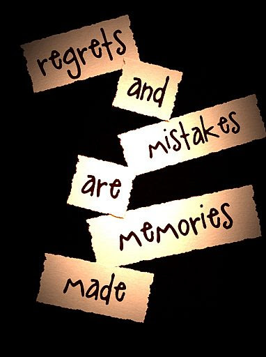 Regrets And Mistakes Quote Picture