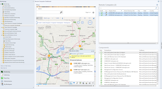 Even MORE SCOM 2012 R2 Dashboard Fun with Multi-Pin Bing Maps