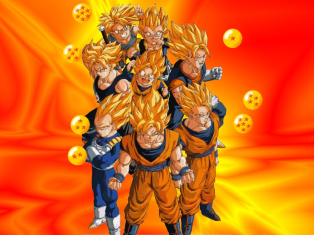 Dragon Ball Z Wallpaper 1024x768 36761