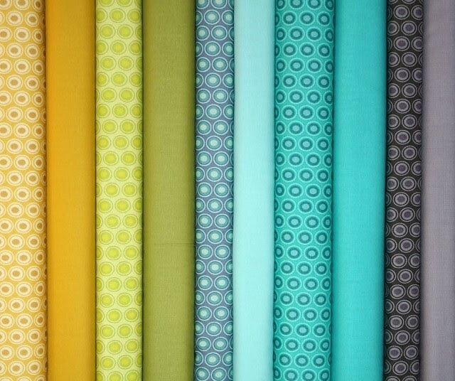 Fabrics for Friday's Giveaway!