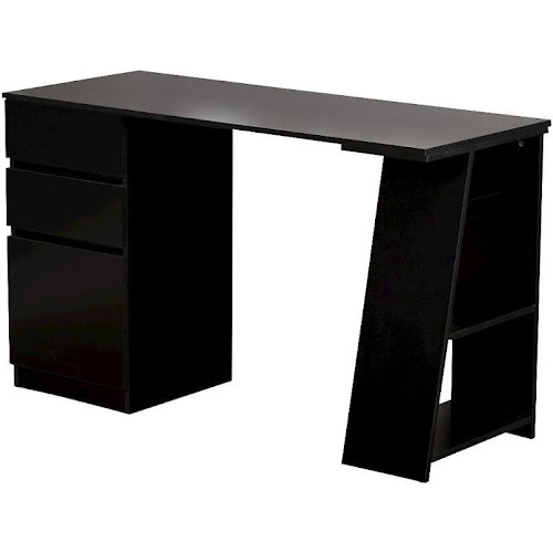Target Marketing Systems 97007blk Como Desk Study Black