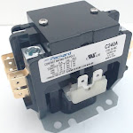 Packard C240A Contactor 2 Pole 40 Amps 24 Coil Voltage