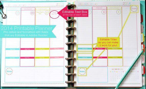 Over 1000 idéer om Daily Planner Pdf på Pinterest