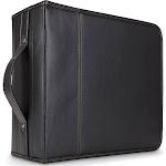 Case Logic 320 Capacity CD Wallet - Black - CD & DVD Sleeves