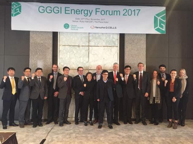 GGGI Energy Forum 2017, November 24, 2017, Seoul. Credit: GGGI