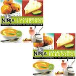 Ninja Blender Cookbook Breakthrough Blending 150 Recipe Cook Book (2 Pack) by VM Express