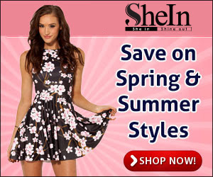 Save on Spring Styles at SheInside.com