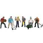 Bachmann 33155 Construction Workers (6) O