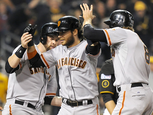 Grand Slam Helps Giants Shutout Pirates In Playoff Game