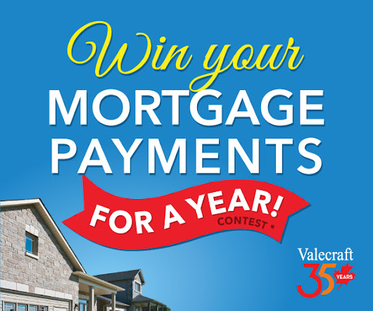🎉 Win Your Mortgage for a Year Contest
