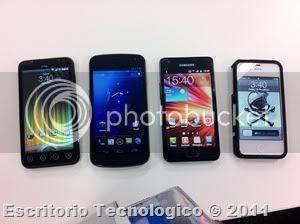 Samsung Galaxy Nexus GT-I9250 (11) - Smartphones comparados