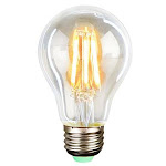 Quasar Science Warm Medium Base Filament LED Bulb, 6 Watt, Clear