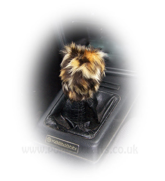 Wild thing Faux fur Leopard print Fuzzy Gearknob cover stick shift – Poppys Crafts