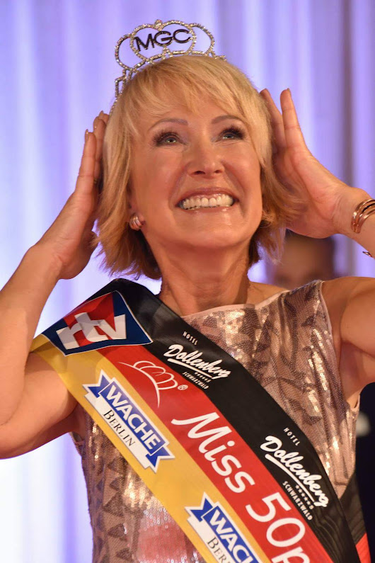 MISS 50 PLUS GERMANY WAHL 2016 CHRISTINE LÖSCH-SCHLEIER