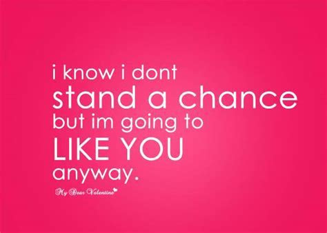 Take A Chance On Me Love Quotes