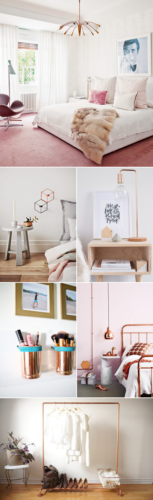 Can't Get Enough of Rose Gold! 30 Trendy Rose Gold Home ...