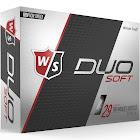 Wilson Staff Duo Soft Golf Balls - White