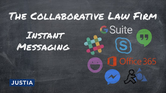 Instant Messaging Services for your Collaborative Law Firm