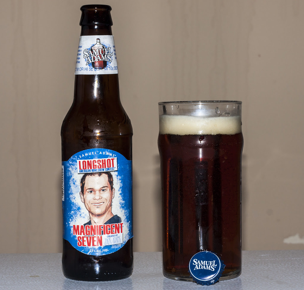 Review: Samuel Adams' Magnificent Seven Imperial IPA by Cody La Bière