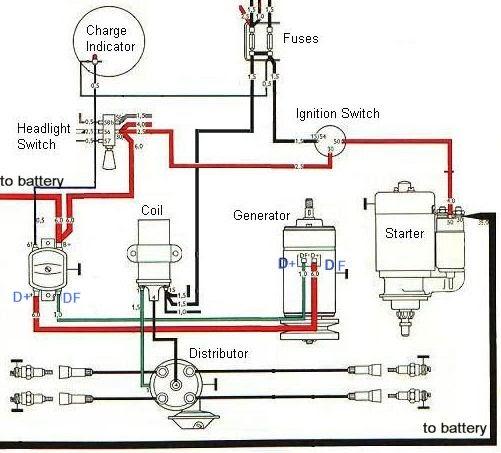 Air Cooled Vw Alternator Wiring Diagram