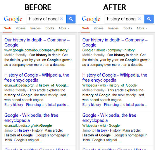 Google Officially Drops URLs In Mobile Search Results For Site Name & Breadcrumbs