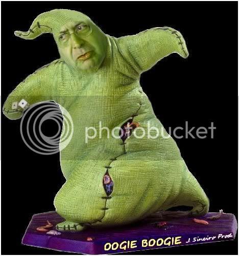 Museu 185 - Oogie Boogie by J. Sineiro