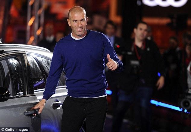 Zinedine Zidane se sintió obligado a probar algo un poco más de lujo que sus jugadores