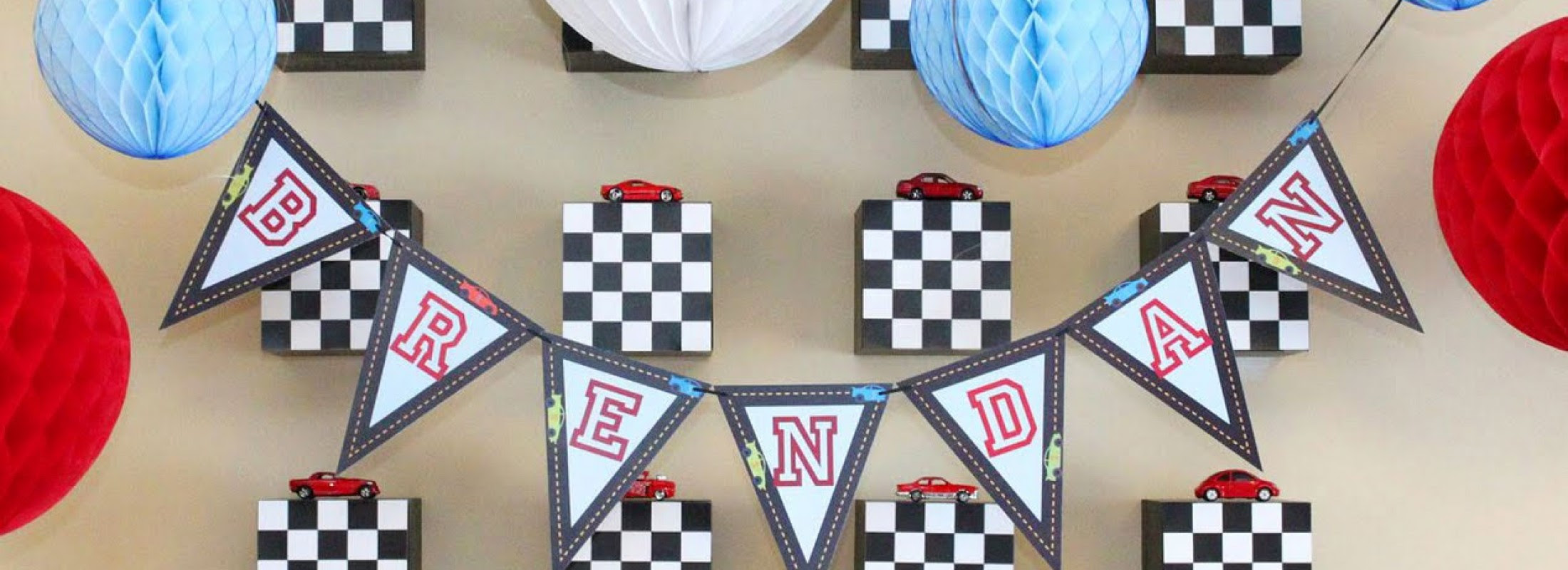 Race Car Birthday Party Decorations And Favors
