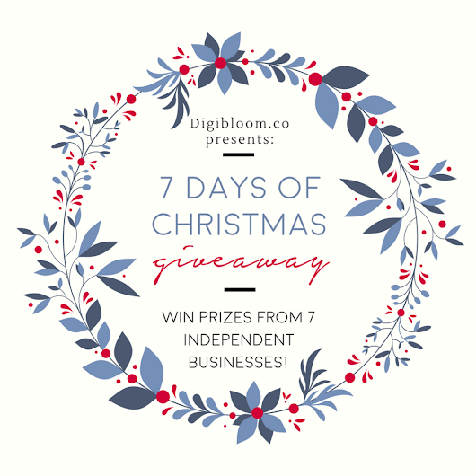 7 Days of Christmas Giveaway Page