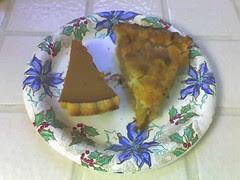 remnants of pie