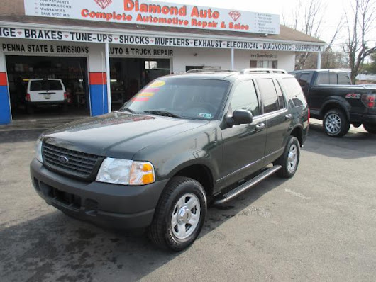 Used 2003 Ford Explorer for Sale in bristol PA 19007 Diamond Auto