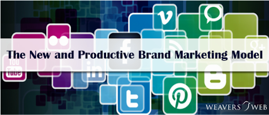The New and Productive Brand Marketing Model - Top Web Design and Development Company | Weavers Web Solutions Pvt Ltd