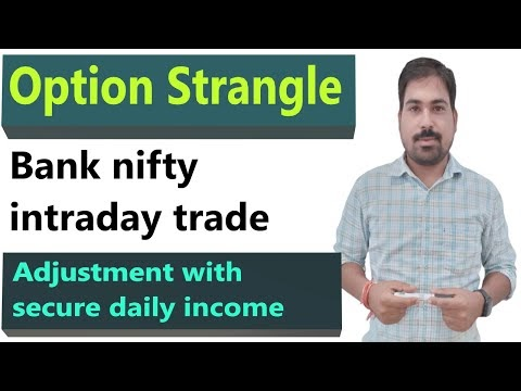 bank nifty short strangle option strategy |secure trade with this strate...