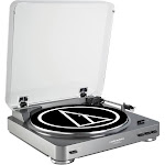 Audio-Technica AT-LP60 Turntable, Silver