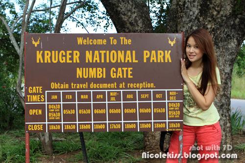 entrance of kruger park