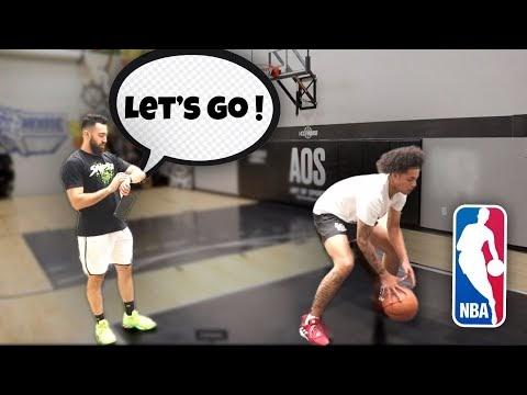 Workout with NBA Skills Trainer Ryan Razooky!