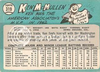 #319 Ken McMullen (back)