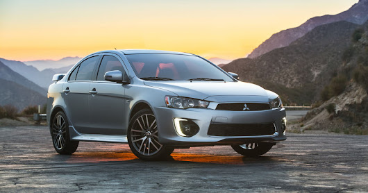 Mitsubishi's Lancer sedan gets a shot of Botox and more standard features for 2016