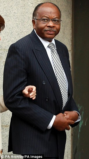'Scapegoat': Surgeon David Sellu, pictured, was jailed for two-and-a-half years for gross negligence manslaughter over the death of James Hughes