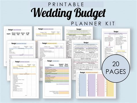The Complete Guide to Wedding Binder Printables ? THE
