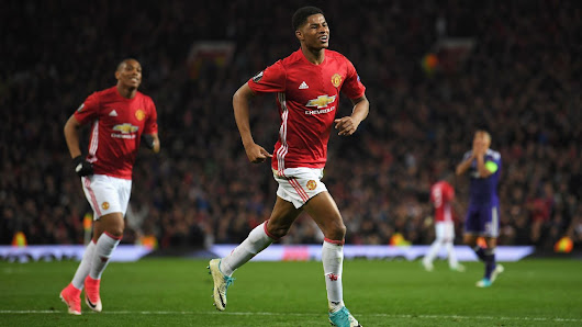 Man United edge past Anderlecht in extra time, reach Europa League semis