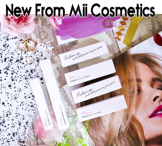 AW 2017 Releases from Mii Cosmetics - Let's talk beauty