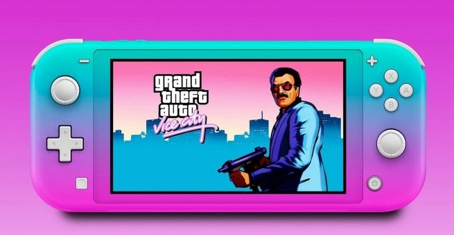 GTA Vice City Alpha version on Switch Released