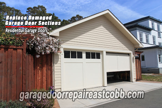 IF YOU'RE HAVING GARAGE DOOR PROBLEMS, HERE'S WHAT YOU CAN DO!