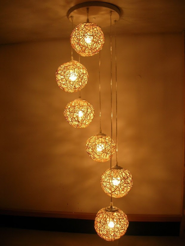 How to decorate home with lights