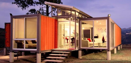 The Containers of Hope - Eco Container Home, Cost Rica