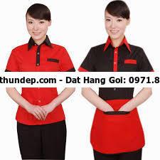 mẫu đồng phục nhân viên nhà hàng
