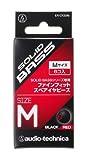 audio-technica SOLID BASS スペアイヤピース M ブラックレッド ER-CK50M BRD